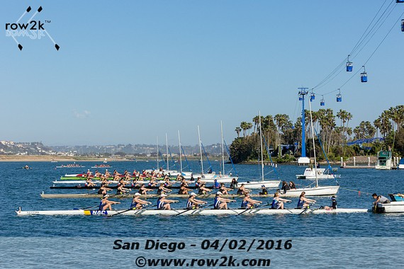 row2k features: 45th San Diego Crew Classic Slated to Be Feast for Racers and Spectators