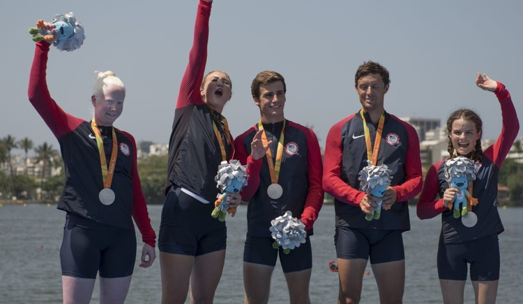 A Silver Anniversary for the U.S. Paralympic Four