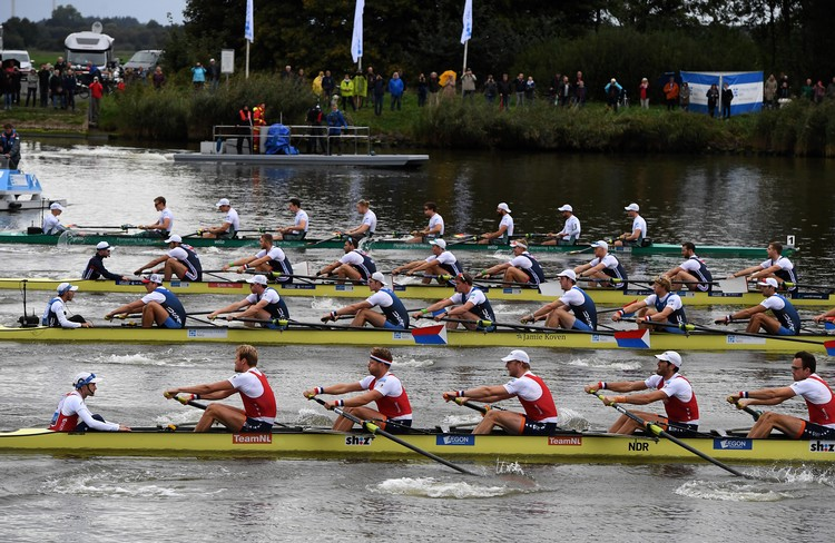 Upset! US Men Win 'Hardest Rowing Regatta in the World