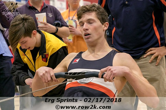 row2k features: Holding Back the Sprint to Win a World Rowing  Indoor Championship