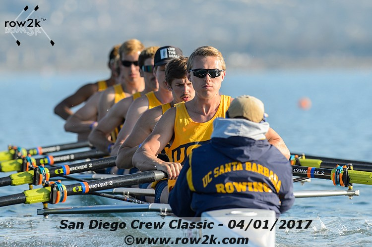 American Collegiate Rowing Association Poll - May 3, 2017