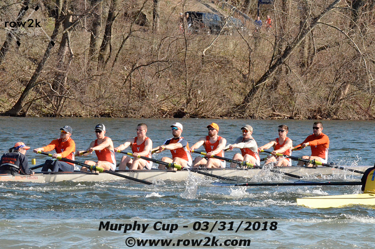 American Collegiate Rowing Association Poll - April 4, 2018