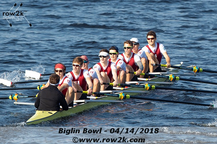 USRowing Collegiate Poll - April 18, 2018