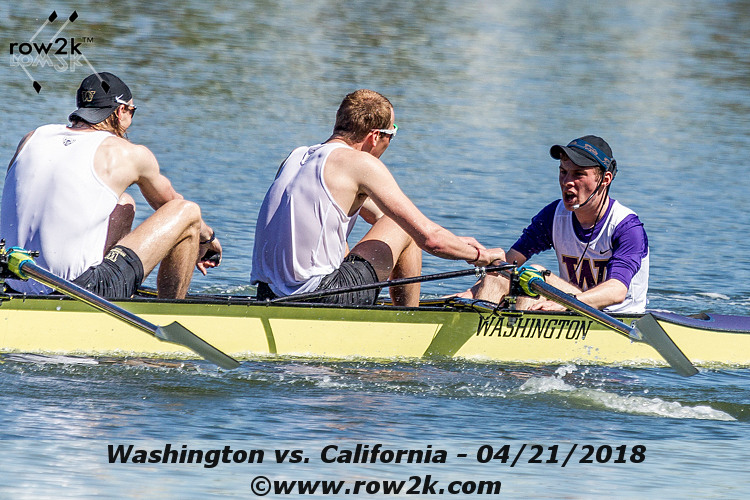 USRowing Collegiate Poll - April 25, 2018