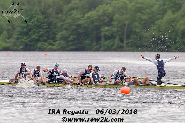 IRA/USRowing Varsity Eight Coaches Polls - February 26, 2019