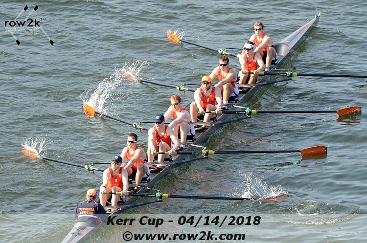 American Collegiate Rowing Association Poll - April 18, 2018