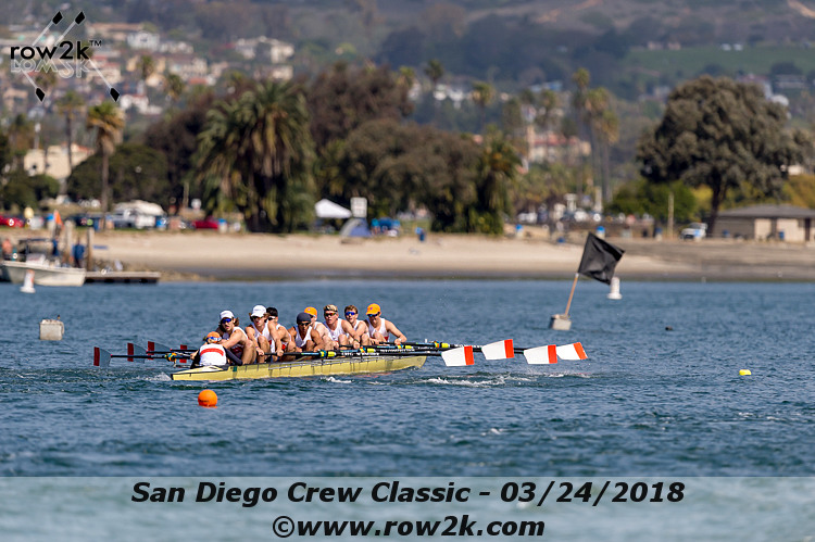 American Collegiate Rowing Association Poll - April 11, 2018