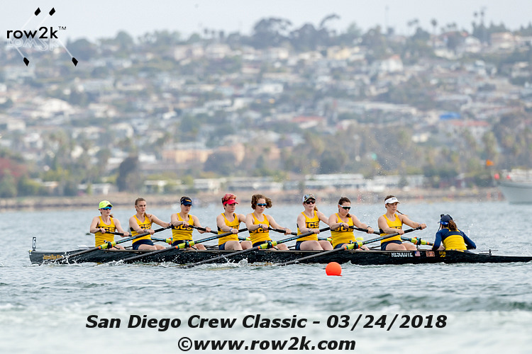 American Collegiate Rowing Association Poll - March 28, 2018