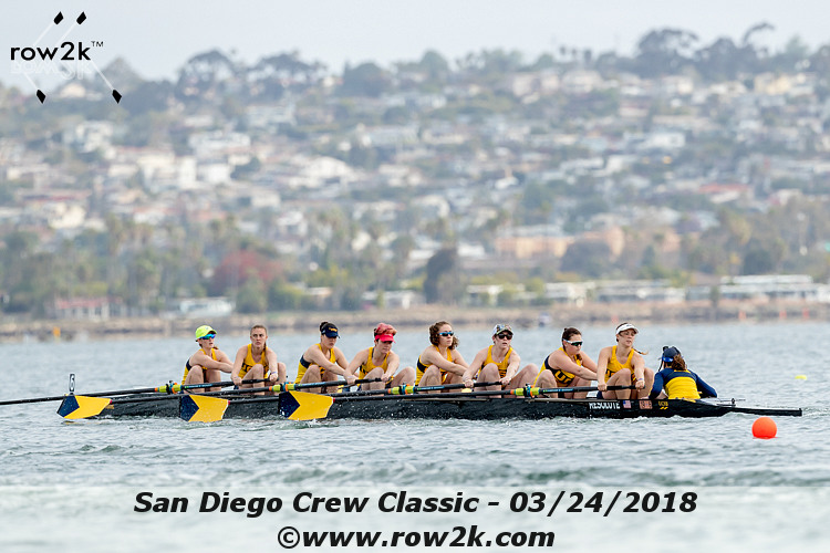 American Collegiate Rowing Association Poll - April 25, 2018