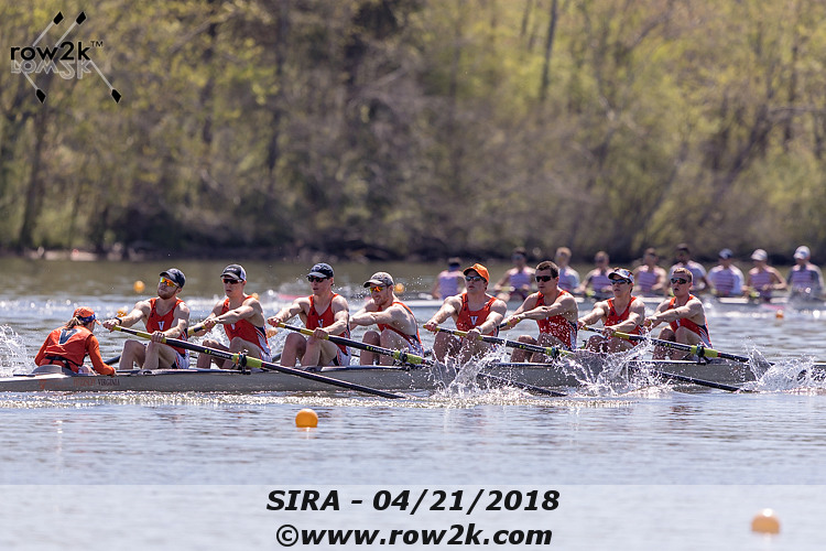 American Collegiate Rowing Association Poll - May 9, 2018