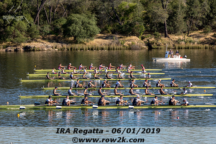 IRA/USRowing Collegiate Poll - March 11, 2020
