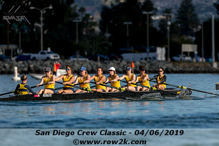 American Collegiate Rowing Association Poll - April 17, 2019