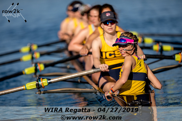 American Collegiate Rowing Association Poll - May 8, 2019