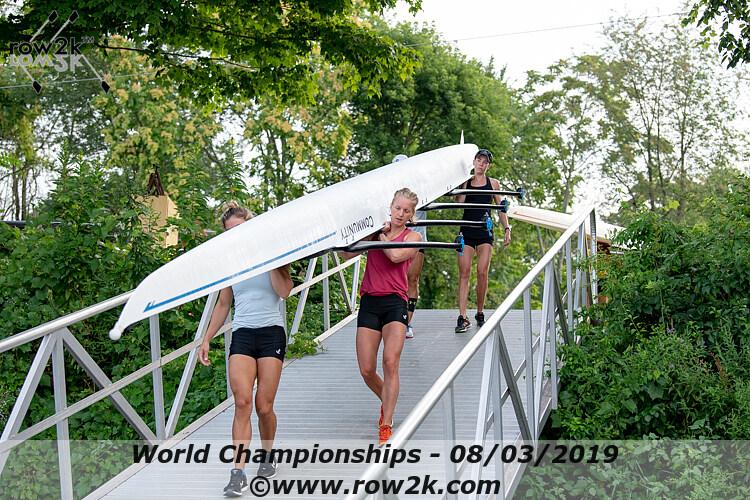 World Championships rowing photos | Lightweight Women's Quad