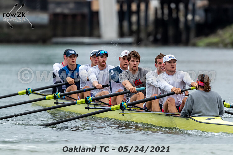 US Rowing Eight Bow Riggers