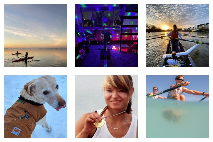 row2k features: This Week's Best of Rowing on Instagram 1/15/2021
