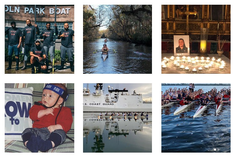 row2k features: This Week's Best of Rowing on Instagram 1/17/2020