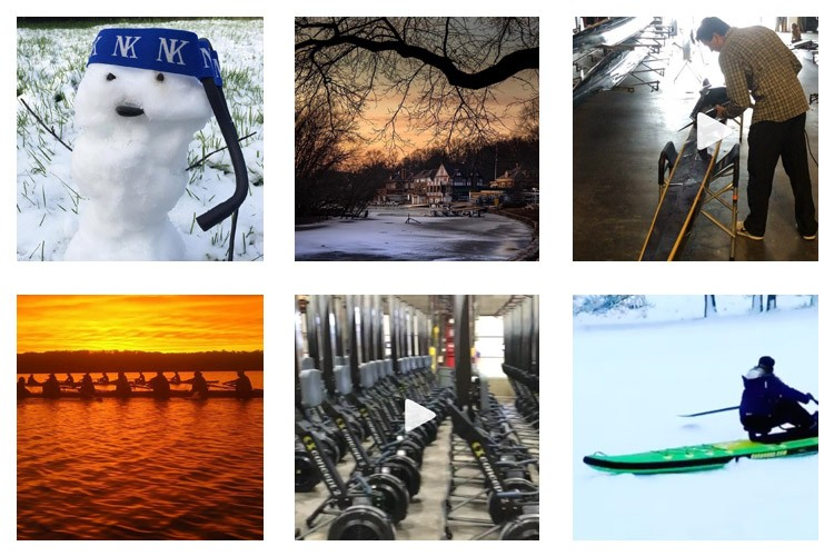 row2k features: This Week's Best of Rowing on Instagram 2/15/2019