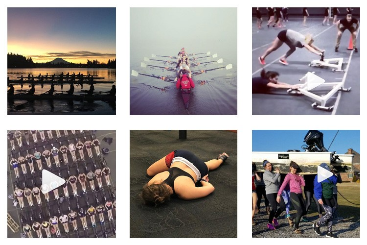 row2k features: This Week's Best of Rowing on Instagram 2/16/2018