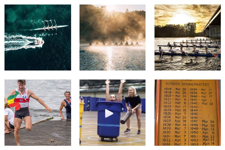 row2k features: This Week's Best of Rowing on Instagram 2/23/2018