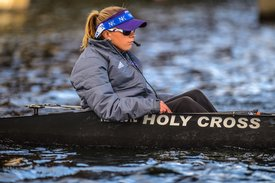 row2k features: Beating the Odds in a Boat: Holy Cross Coxswain Caroline Laurendeau