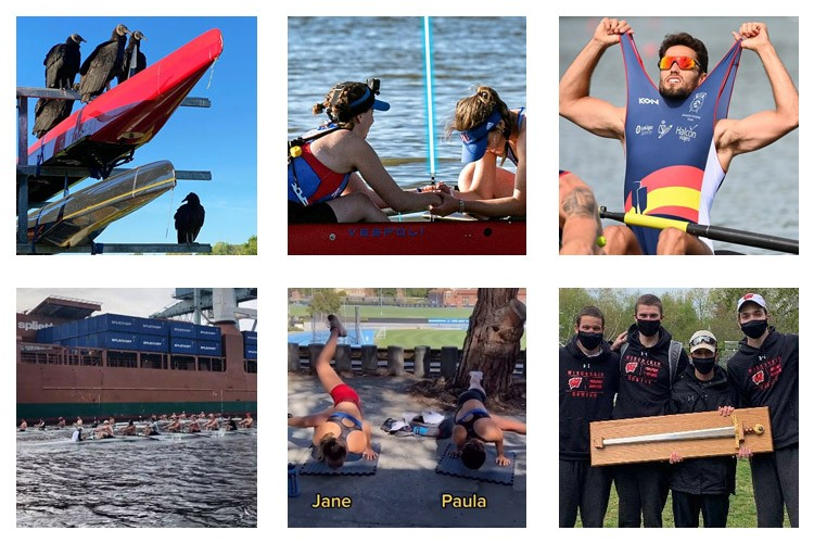 row2k features: This Week's Best of Rowing on Instagram 5/8/2021