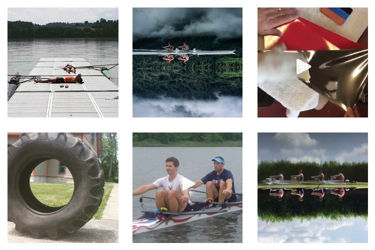 row2k features: This Week's Best of Rowing on Instagram 6/15/2018