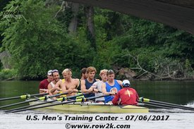 row2k features: USA Men's Rowing Squad 2017: Putting the Pieces Together In Princeton