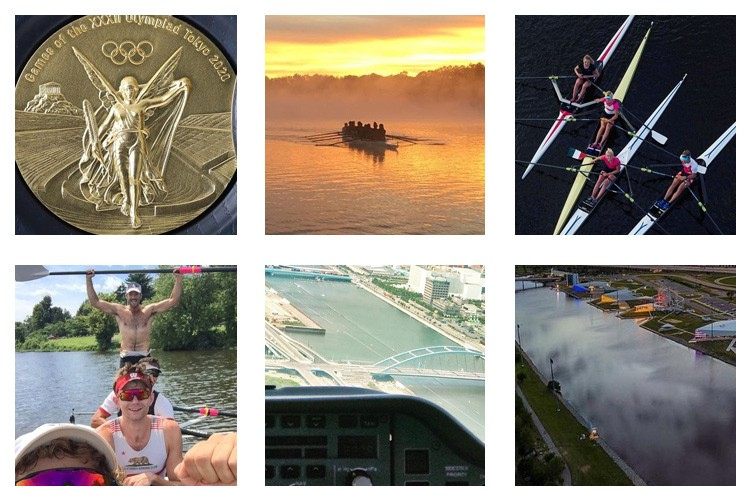 row2k features: This Week's Best of Rowing on Instagram 8/16/2019