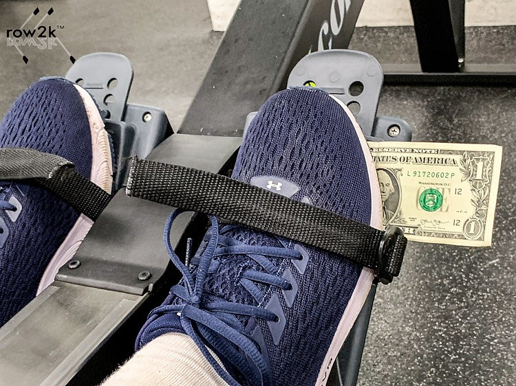 Technique on the Erg: The Dollar Bill Trick