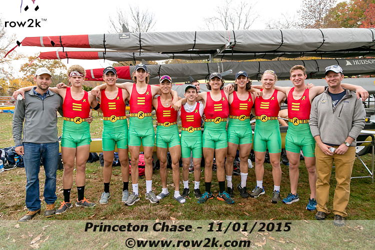 GW Men's Rowing Princeton Chase 2015
