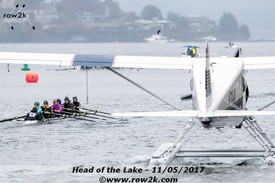 row2k features: 12/10 - Overtaking a Lake Sea Plane