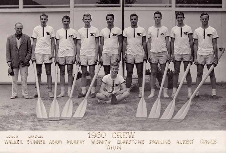row2k features: 1960 Boys: An Excerpt from 'More Than Rowing, Kent School Boat Club, The First 100 Years'