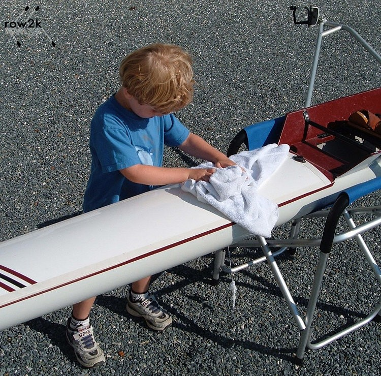 row2k features: Rowing Shell Preparation: A simple roadmap to get your shell ready to row