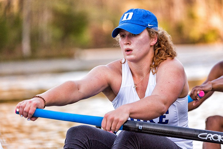 row2k features: Duke's Abby Artmann