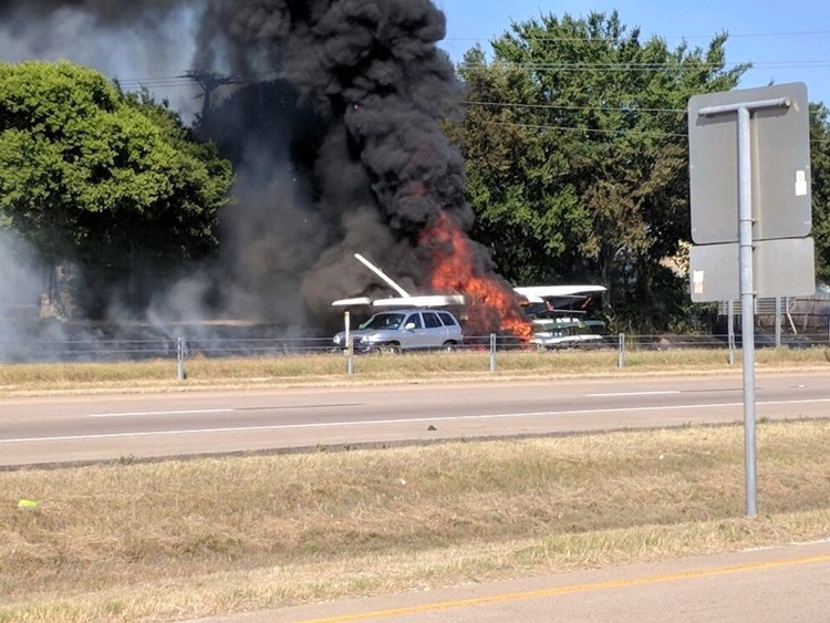 row2k features: Trailer Fire Not Enough to Stop Texas Rowers