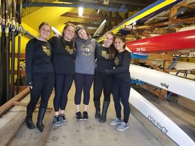 row2k features: PLU Rowers in Scotland Get a Wee Bit of Training