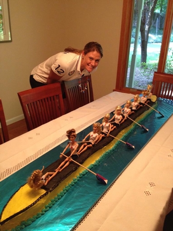 Women S Usa 8 Cake Row2k Rowing Photo Of The Day