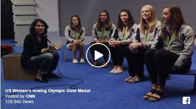 US Women's rowing Olympic Gold Medal Squad
