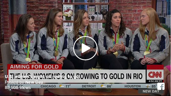 US Women's Rowing Team - New Day