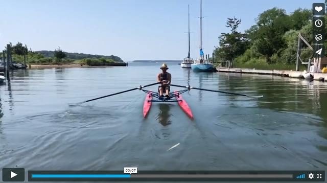 Buckiminster Fuller Rowing Needle