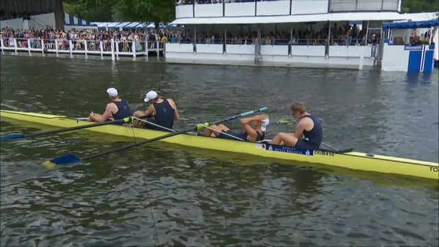 Henley Royal Regatta UC Berkeley vs Thames made better with Titanic Music