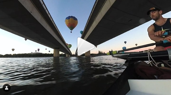 Canberra Balloons - Rowing Video   row2k com