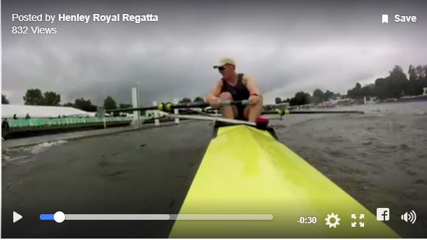 GoPro into the booms at Henley '17