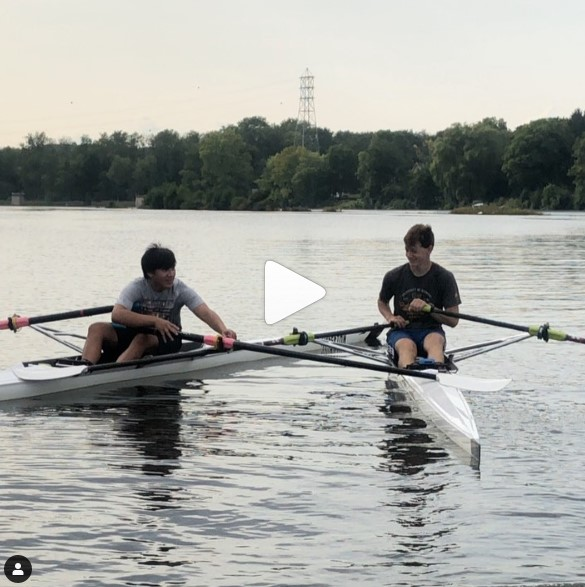 The Rowing Equivalent of Lending a Hand