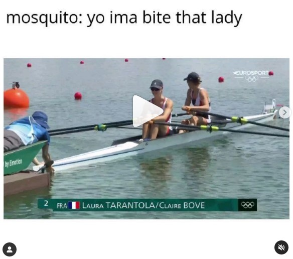 Mosquito: I'm Going to Bite that Rower!