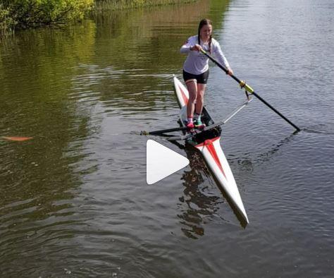 Rowing SUP?  Nah.