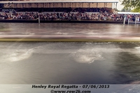 Long exposure of an eight rowing through the enclosures. - Click for full-size image!
