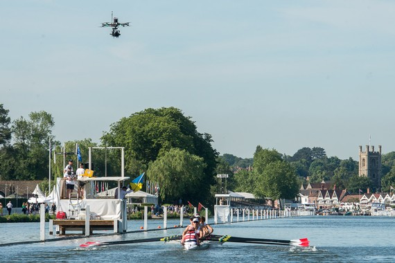 row2k features: A Drone's Eye View from Henley to the World