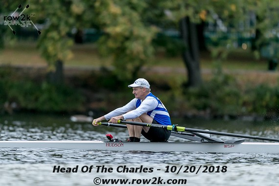 row2k features: Leading off the Head of the Charles